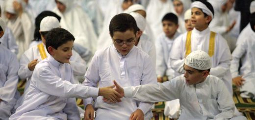 Shaking-Hands-after-Praye-Sunnah
